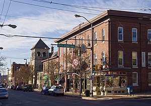 Hampden, Baltimore - Hampden commercial district at 36th and Roland Ave.