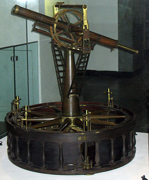 Ramsden surveying instruments - Image: 3foottheodoliteramsd en