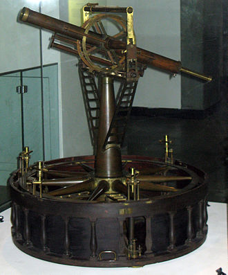 Principal Triangulation of Great Britain - The second Ramsden theodolite as  purchased by the Board Ordnance. Now in the Science Museum, London