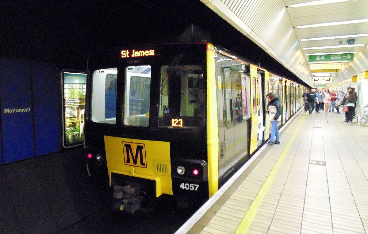 Tyne And Wear Metro Wikipedia