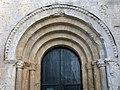 411 Sant Pere de Galligants (Girona), arquivoltes del portal.JPG