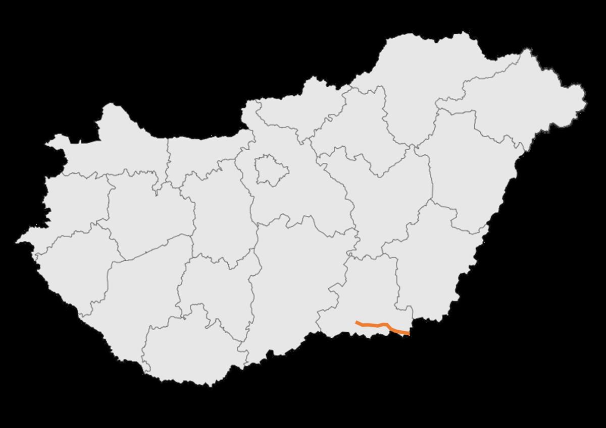 magyarország térkép orfű 43 as főút (Magyarország) – Wikipédia magyarország térkép orfű