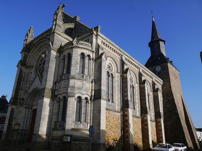 L'église Saint-Martin.