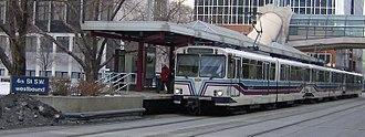3 Street Southwest and 4 Street Southwest stations - Image: 4 Street Southwest (C Train) 2