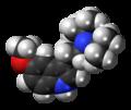 5-MeO-DiPT molecule spacefill.png