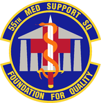 55 Medical Support Sq emblem.png