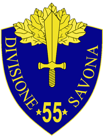 55th Infantry Division Savona - 55th Infantry Division Savona Insignia