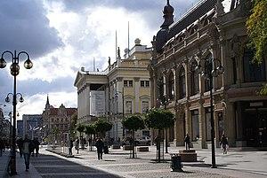 Wrocław Opera - Wrocław Opera on Świdnicka Street