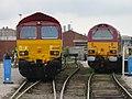 66200 and 67019 at NRM June 2004.jpg