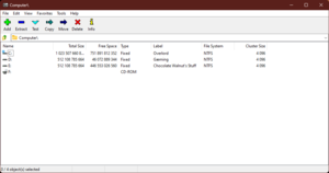 7-Zip File Manager on Windows 10