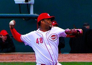Francisco Cordero - Cordero pitching for the Reds in 2009