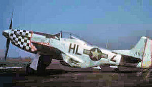 78th Fighter Group - North American P-51D-20-NA Mustang of the 83rd Fighter Squadron