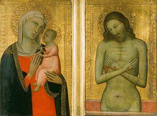 Vierge à l'Enfant ; Christ de douleur