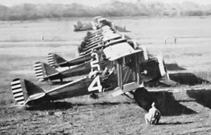 397th Bombardment Squadron - de Havilland DH-4s at Rio Hato Airfield, Panama, 1920s