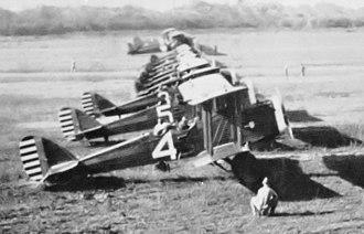 397th Bombardment Squadron - de Havilland DH-4s at Rio Hato Airfield, Panama, 1920s
