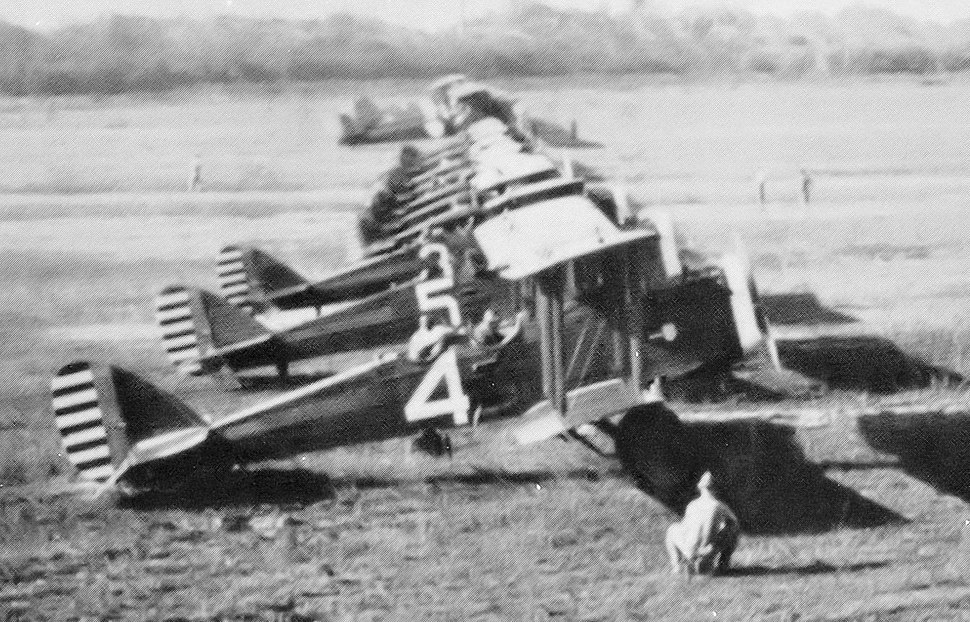 7th Observation Squadron DH-4s Rio Hato Airfield 1920s