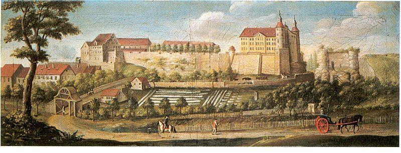File:88 Württemberg und Mömpelgard Schloss Mömpelgard.jpg
