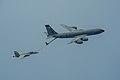 909th ARS KC-135R refuels F-18E of VFA-27 in June 2014.JPG
