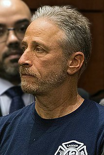 Jon Stewart American political satirist, writer, television host, actor, media critic and stand-up comedian