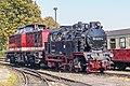 99 6001-4, Germany, Saxony-Anhalt, depot Wernigerode Westerntor HSB (Trainpix 185805).jpg
