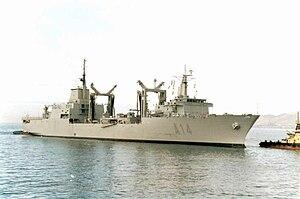 Attack on SPS Patiño - Spanish replenishment oiler SPS Patiño