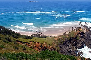 Cape Byron - Cape Byron, easternmost point of the Australian mainland