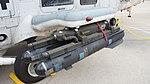 AGM-114M Hellfire II missile(INERT) mounted on JMSDF SH-60K(8404) left front top view at Maizuru Air Station July 29, 2017 01.jpg