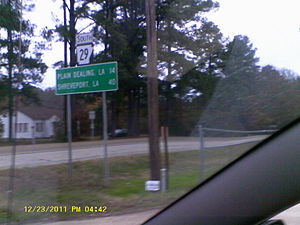 Arkansas Highway 29 - Arkansas Highway 29 signage in Bradley