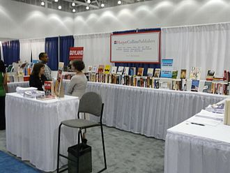HarperCollins - 2008 conference booth