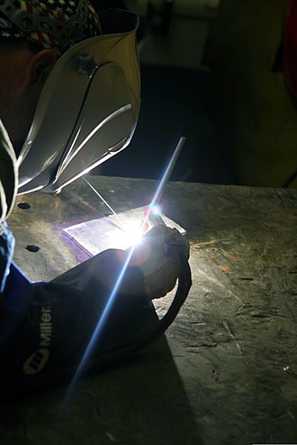 Gas blending - Tungsten inert gas welding