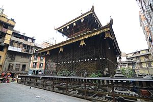 Nath - Image: A Matsyendra Macchendranath Temple Nath Shaivism Avalokiteshvara Buddhism Nepal