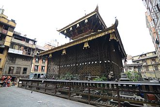 Nath - A Matsyendra (Macchendranath) Temple in Nepal, who is revered by both Buddhists and Hindus.