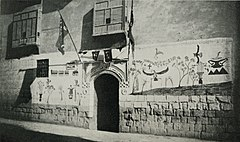 A Pilgrim's House, with the Supposed Adventures of his Pilgrimage to Mecca Painted on its Exterior. (1911) - TIMEA.jpg