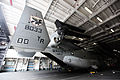 A U.S. Marine Corps MV-22 Osprey tiltrotor aircraft attached to Marine Medium Tiltrotor Squadron (VMM) 161 is lowered into the hull of the Japan Maritime Self-Defense Force helicopter destroyer JDS Hyuga (DDH 130613-M-SF473-049.jpg