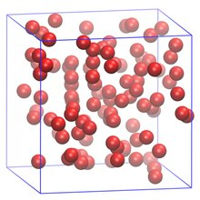 collisions between molecules in a gas - 220×220