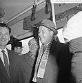 Aankomst en vertrek van Oost Duitse schaker Uhlmann Otto en Uhlmann in het busje, Bestanddeelnr 911-7942.jpg