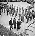 Aankomst koningin Wilhelmina Na de inspectie van de erewacht, Bestanddeelnr 900-7881.jpg