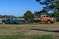 Abandoned pickup and emergency vehicle at Kelvin A. Lewis farm in Creeds 1.jpg