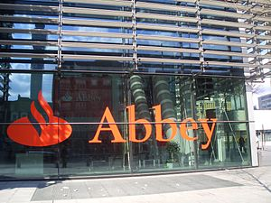 Abbey National - Abbey National House, the bank's registered office in London