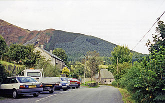 Aberllefenni - Location of the former station (1999)