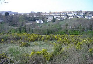 Abersychan town and community in Torfaen County Borough in south east Wales