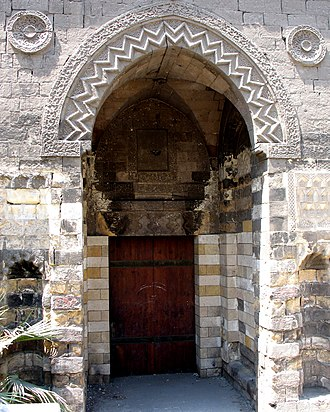 Ablaq - Mosque of al-Zahir Baybars portal
