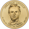Abraham Lincoln $1 Presidential Coin obverse sketch.png