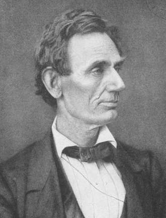 United States presidential election in California, 1860 - Image: Abraham Lincoln by Alexander Hesler