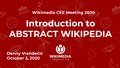 Abstract Wikipedia Introduction - CEE 2020.pdf