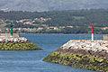 Acceso ó porto de Rianxo. Galiza.jpg