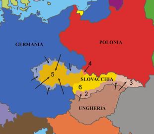 Cartina Europa 1938.Conferenza E Accordo Di Monaco Wikipedia
