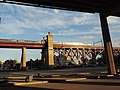 Acela crosses Little Hell Gate SB fr under TBB jeh.jpg