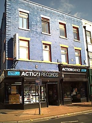 Action Records (music) - Image: Action Records Photo 27 October 2001