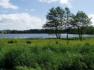 Acton, County Armagh - Image: Acton Lake on the Newry Canal geograph.org.uk 185528